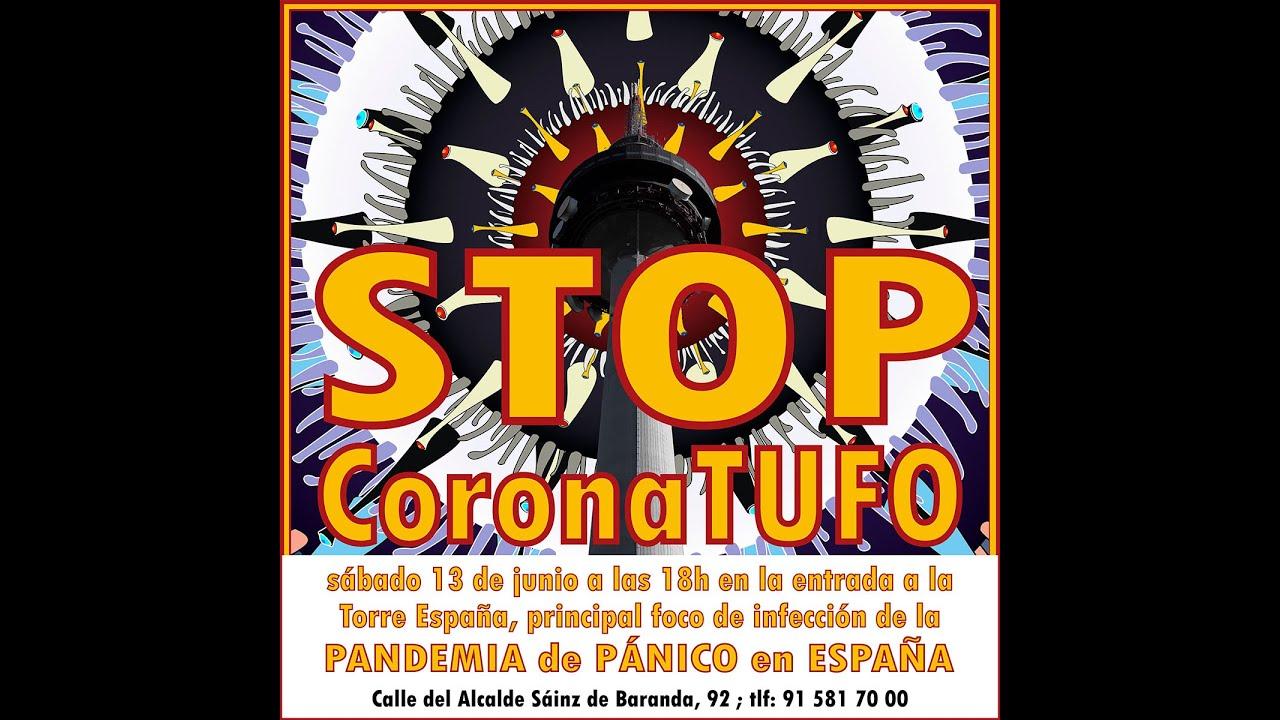 Convocatoria anti-CoronaTUFO en Madrid, para el sábado 13 de junio en RTVE