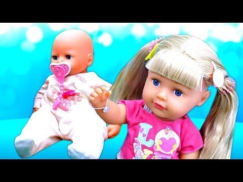 У Беби Аннабель появилась сестричка Беби Бон! Видео для девочек Как мама Анабель