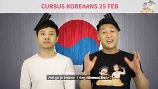 Koreaanse Conversation Genius Cursus!