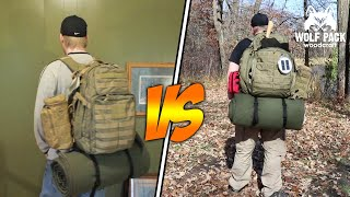 5:11 Tactical Rush 24 Vs Rush 72 Backpacks