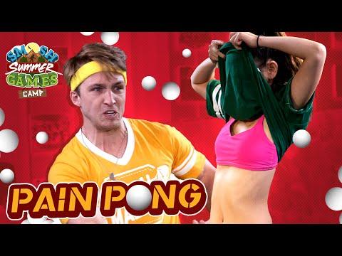 CO-ED PAIN PONG (Smosh Summer Games)