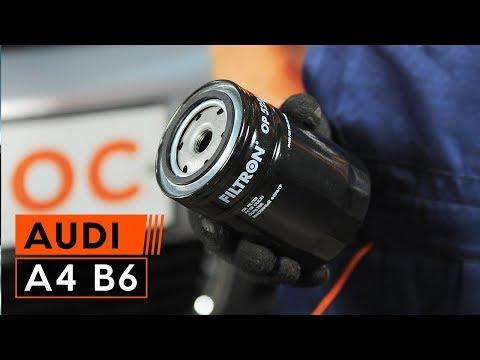 Wie AUDI A4 B6 Motoröl und Ölfilter wechseln TUTORIAL | AUTODOC