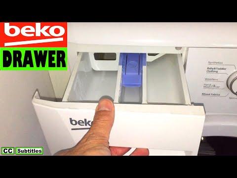 How to remove Dispenser Drawer on Beko Washing Machine