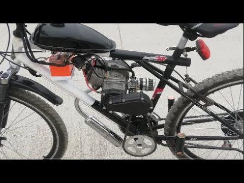homemade motorized bike