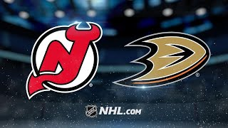 Getzlaf, Rakell lead Ducks to 4-2 win against Devils