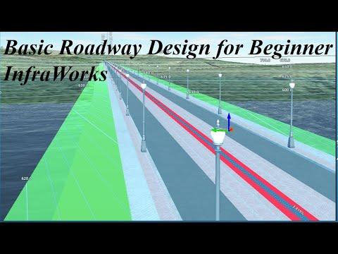 Basic Roadway Design for Beginner InfraWorks