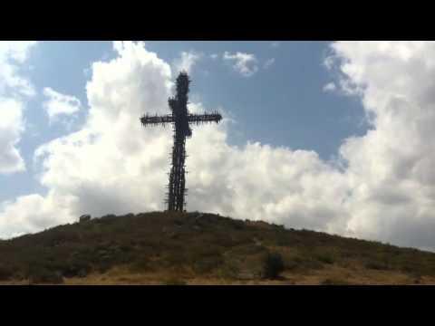 Крест в Арагацотнской области Армении