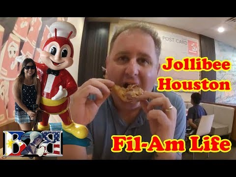 Vlog#9:JOLLIBEE | Houston Texas | The #1 fastfood in the Philippines!