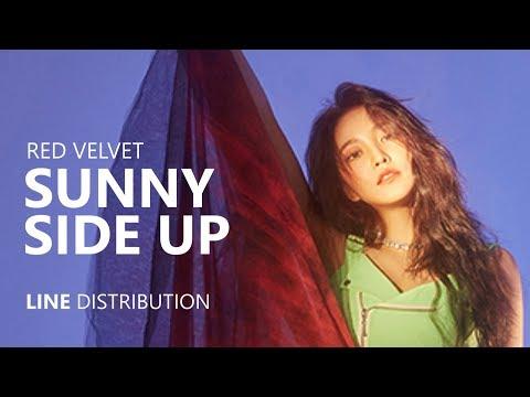 RED VELVET - SUNNY SIDE UP   Line Distribution