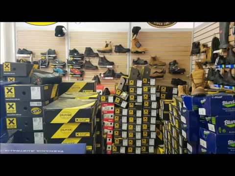 BUYING SAFETY SHOES : 5 Step Safety Shoe Check