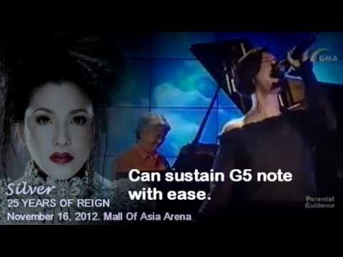 Regine Velasquez (High Note Compilation) - G5