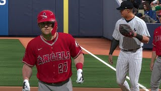 MLB Today 7/22 - New York Yankees vs Los Angeles Angels Full Game Highlights (MLB The Show 20)