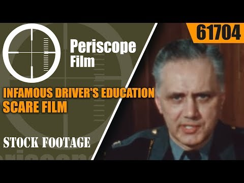 INFAMOUS DRIVER'S EDUCATION SCARE FILM   HIGHWAY OF AGONY  61704