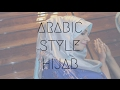 How To Wear Arabic Style Hijab