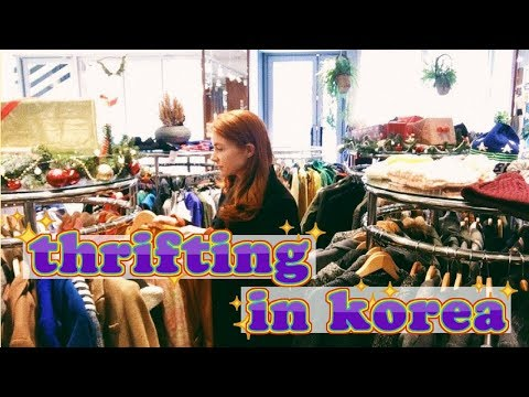 Thrifting in Korea | Thrift With Me at a Second Hand Shop in Seoul