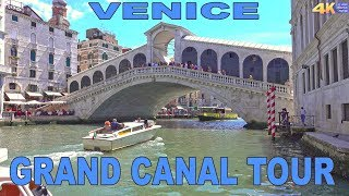 VENICE - GRAND CANAL TOUR 2017 4K