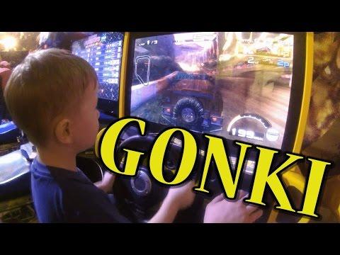 Видео для детей Гонки Игровые автоматы Развлекательный центр