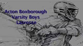 Acton Boxborough Varsity Boys Lacrosse @ Newton South 4/23/18