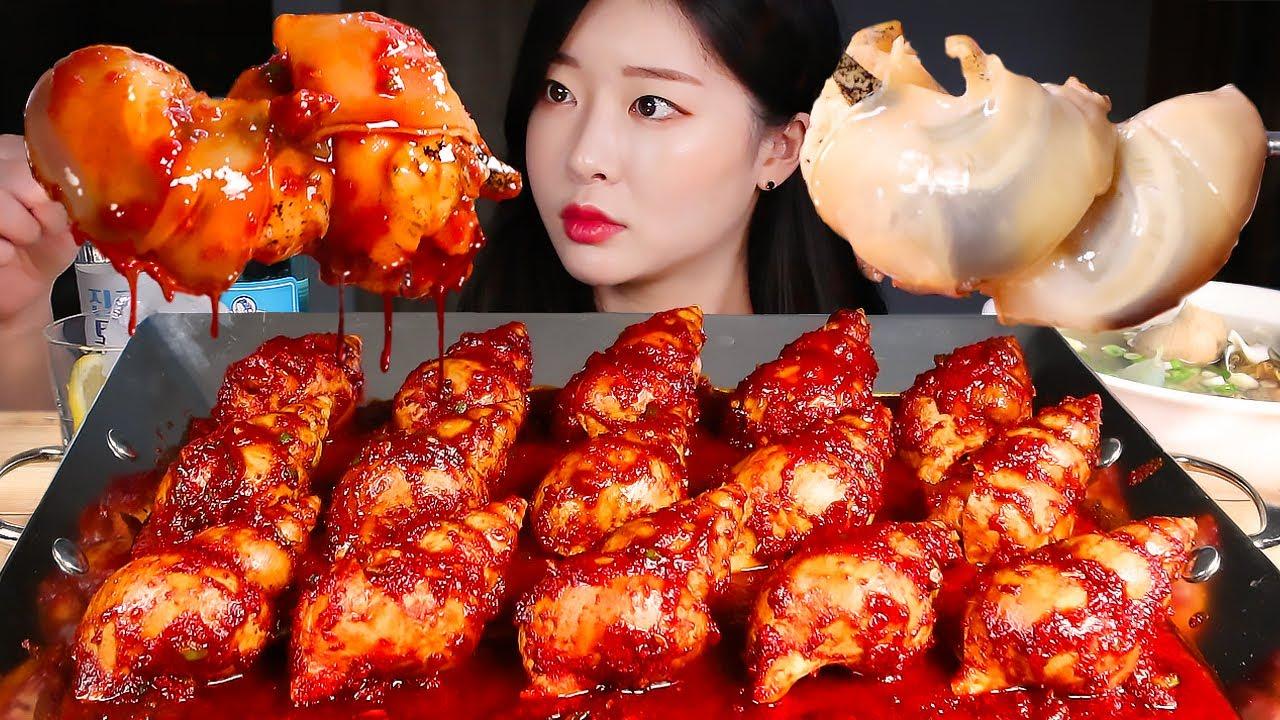 Download 매운 백골뱅이찜에 시원한 백골뱅이탕(ft. 소토닉) 먹방/SPICY BRAISED SEA SNAIL(WHELK) & SEA SNAIL SOUP MUKBANG Eating Show