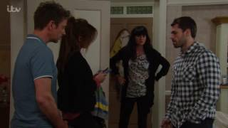 Andy Takes Sarah And Jack's Passports Away From Debbie - Emmerdale