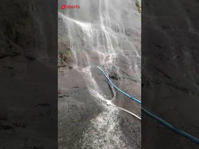 Indah tebing air terjun Lembah Harau #shorts