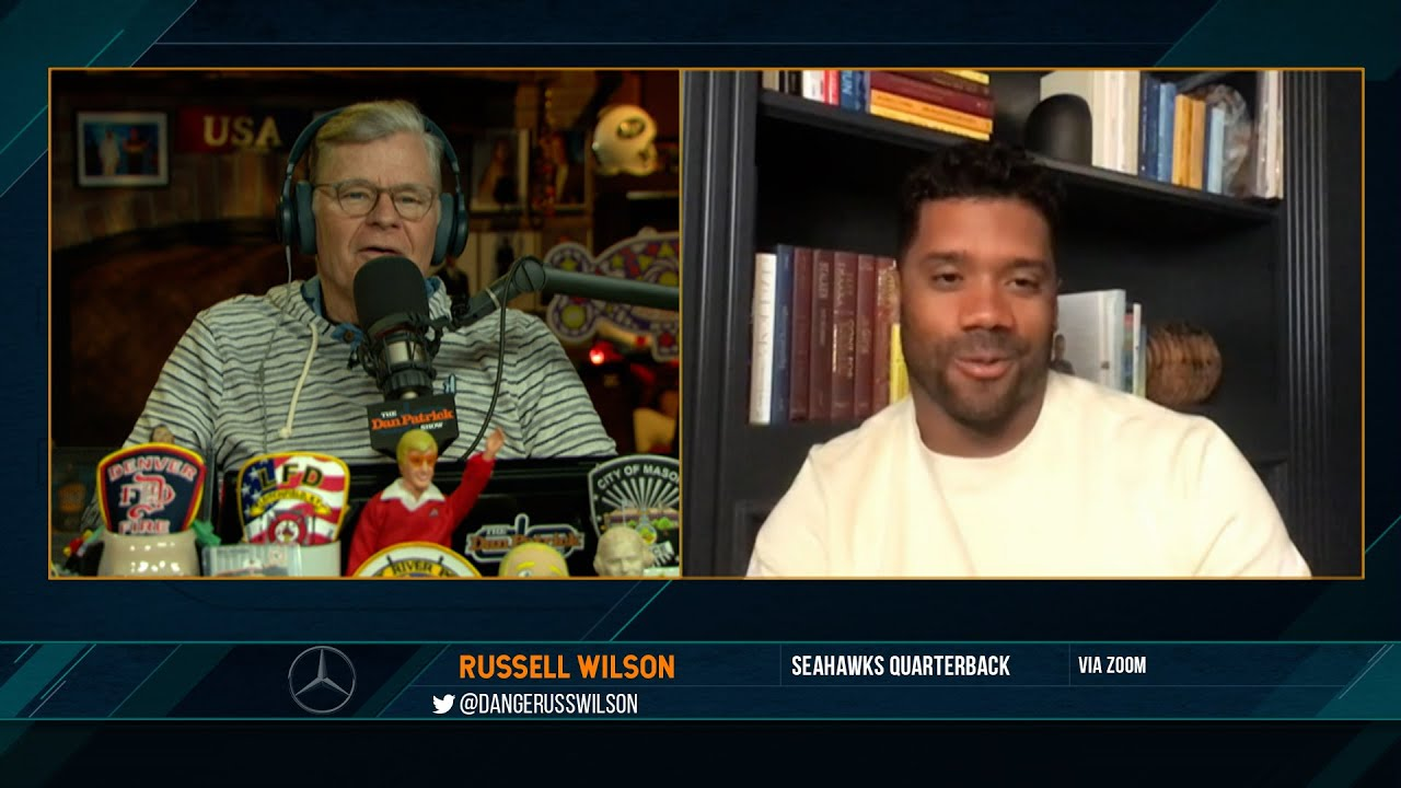 Russell Wilson on the Dan Patrick Show (Full Interview) 2/9/21