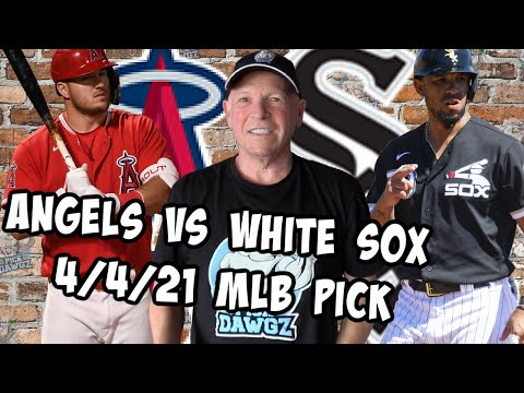 Los Angeles Angels vs Chicago White Sox 4:4:21 MLB Pick and Prediction MLB Tips Betting Pick