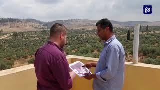 الاحتلال يستولي على أراض من  قريتي دير الحطب وعزموط شرق نابلس   -(13-6-2019)