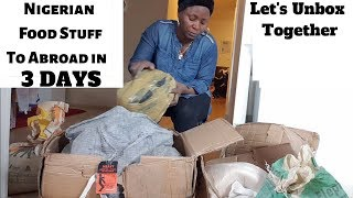 I Cargo my Nigerian food Stuff and received it in 3 DAYS