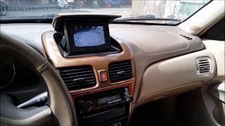 In dash pop up LCD nissan n16 mod