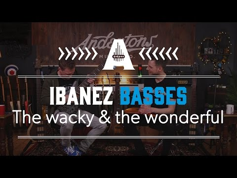 Wacky & Wonderful Ibanez Basses - All About the Bass