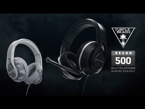 Turtle Beach Recon 500 Wired Multiplatform Gaming Headset