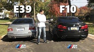 HEAD TO HEAD: BMW E39 M5 VS BMW F10 M5 *REVIEW*