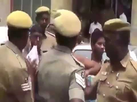 Police killed many in Coimbatore prison,prisoner shouted in front of media people