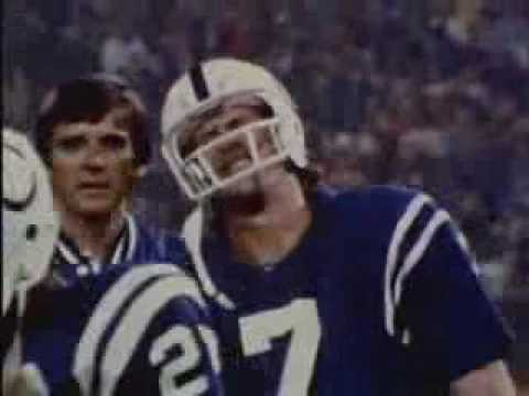 Bert Jones - Colts - 8 1978 - Weeks 3 and 10