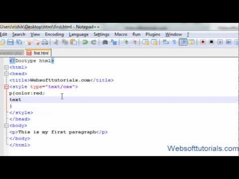 Html and Css Tutorial - 18 - Text property in Css (text ...