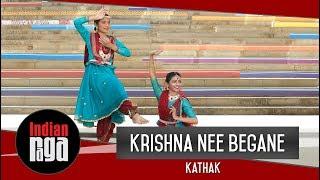 Krishna Nee Begane Kathak | Mahesh Raghvan | Kathak Dance Duet