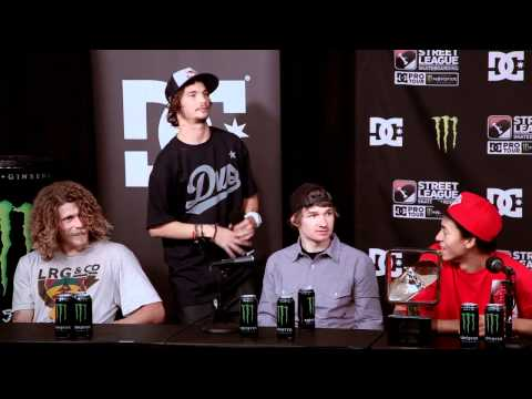 Street League 2011 Best Of : Torey Pudwill Press Conference