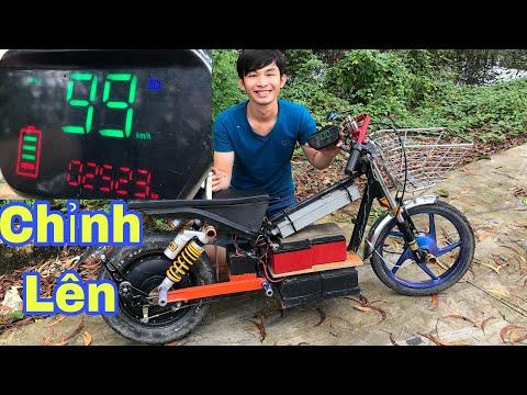 Ngự Bình Vlogs - Hướng Dẩn Chỉnh Đồng Hồ Lên 99kmh Cho Xe Điện Độ