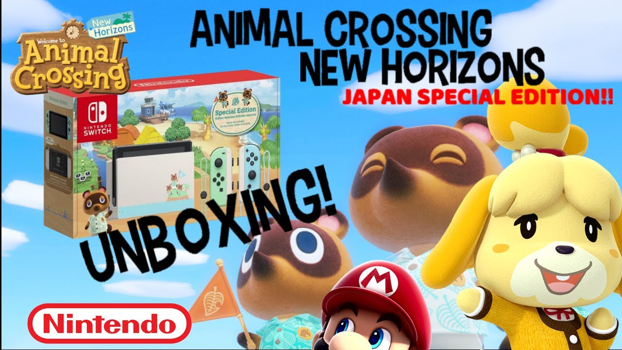 SPECIAL LIMITED EDITION Nintendo Switch Animal crossing ...