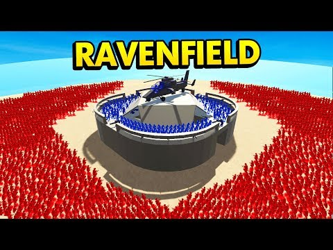 EPIC FORT DEFENSE IN RAVENFIELD (Ravenfield Funny Gameplay