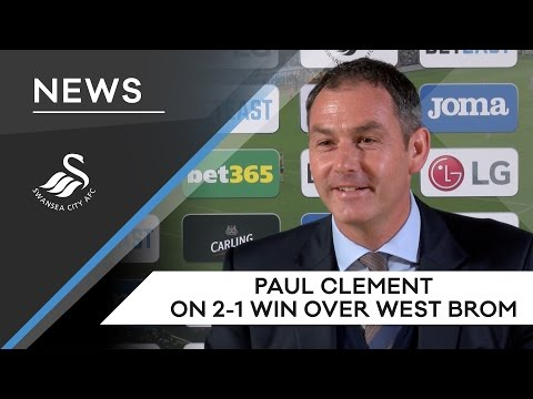 Swans TV – Reaction: Clement on 2-1 win over West Brom