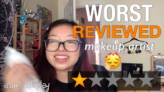 [ASMR] I WENT TO THE WORST MAKEUP SALON IN MY CITY fruitypoppin