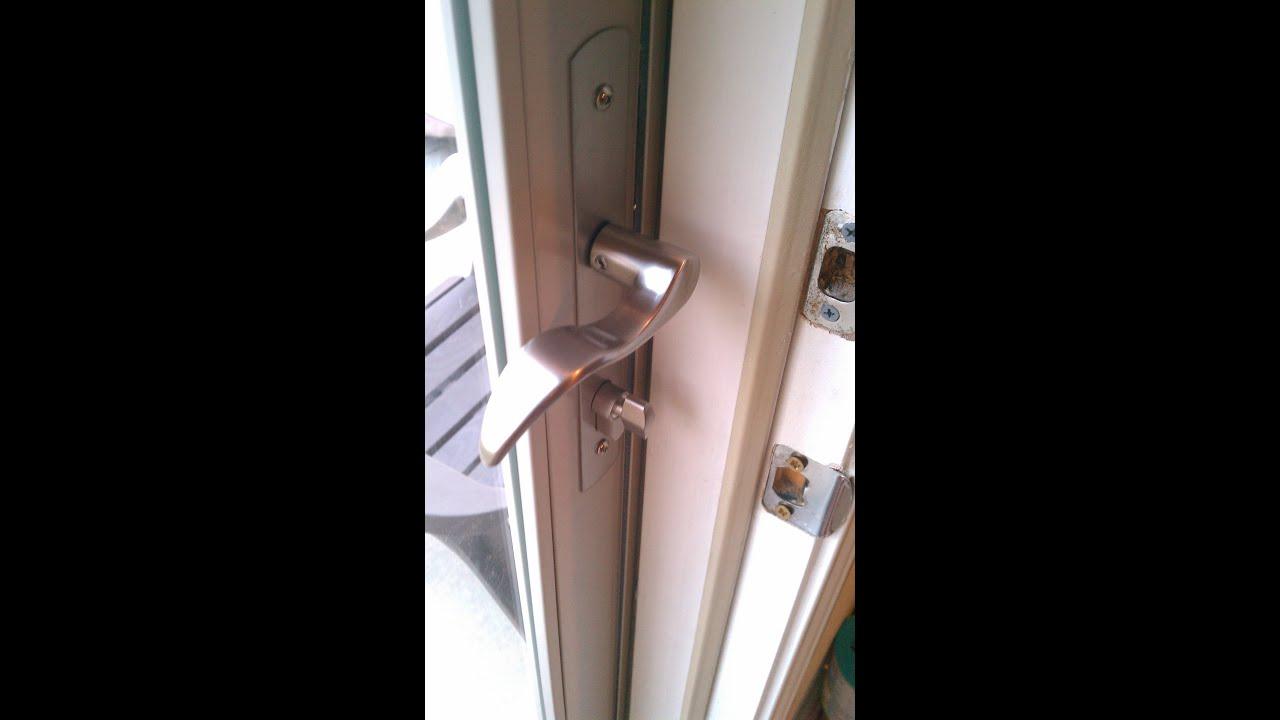 Bon Larson Secure Door Installed   YouTube