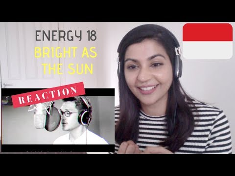 Energy18 - Bright As The Sun - Official Song Asian Games '18-- REACTION VIDEO