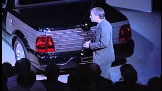2000 Lincoln Blackwood Concept Car