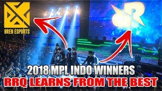RRQ USED BREN ESPORTS COACHING TO WIN MPL INDO OVER EVOS