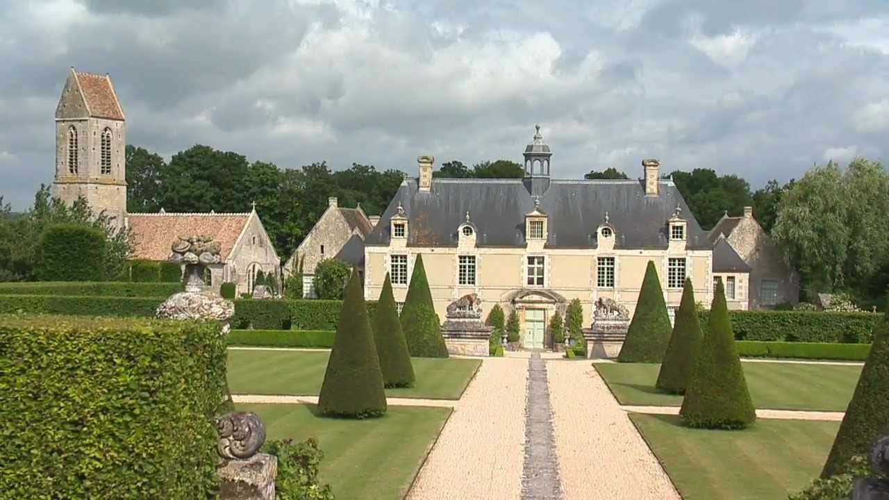 Jardin de Normandie : les jardins du Château de Brécy - YouTube