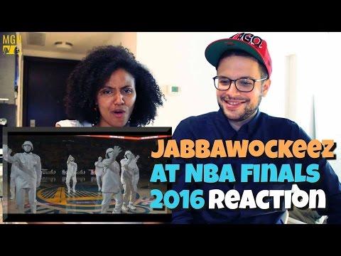 JABBAWOCKEEZ At NBA Finals 2016 Reaction