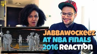 Video JABBAWOCKEEZ at NBA Finals 2016 Reaction download MP3, 3GP, MP4, WEBM, AVI, FLV Juli 2018